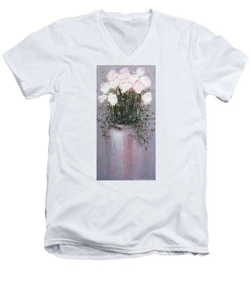 Blush - Original Artwork Men's V-Neck T-Shirt
