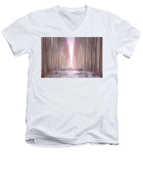 Boardman Tree Farm  Men's V-Neck T-Shirt