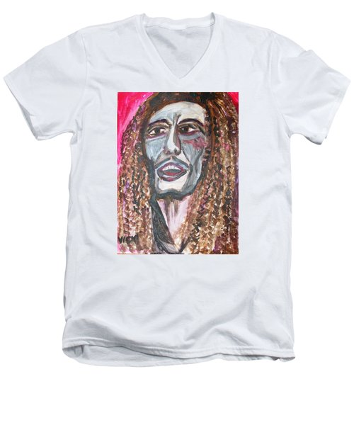 Bob Men's V-Neck T-Shirt