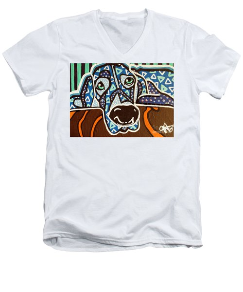 Bobby Blue Eyes Men's V-Neck T-Shirt