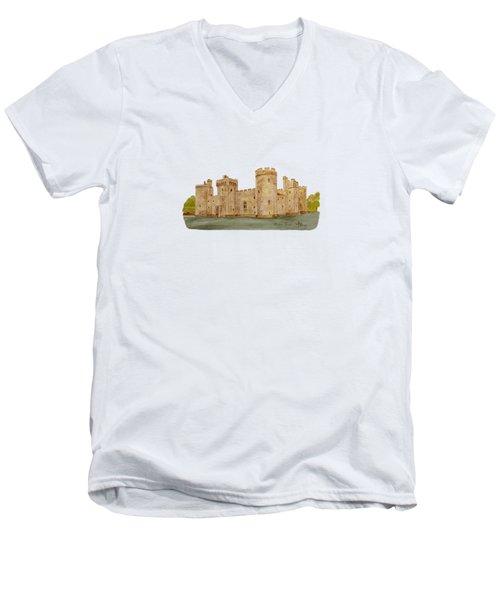 Bodiam Castle Men's V-Neck T-Shirt