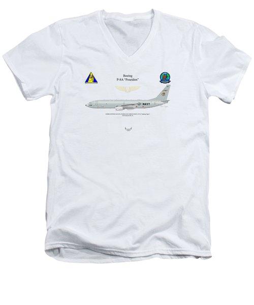Boeing P-8a Vp-8 Men's V-Neck T-Shirt