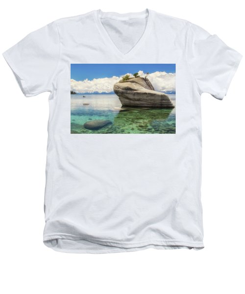 Bonsai Rock Men's V-Neck T-Shirt