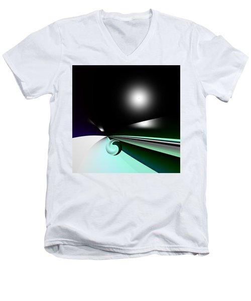 Borderling Men's V-Neck T-Shirt