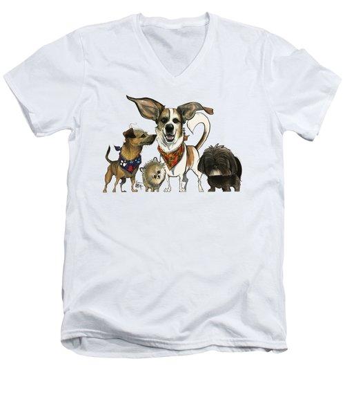 Bosco 7-1502 Men's V-Neck T-Shirt