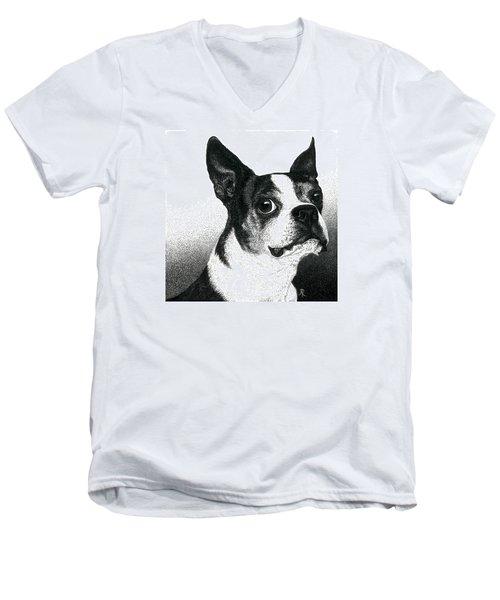 Boston Style Men's V-Neck T-Shirt