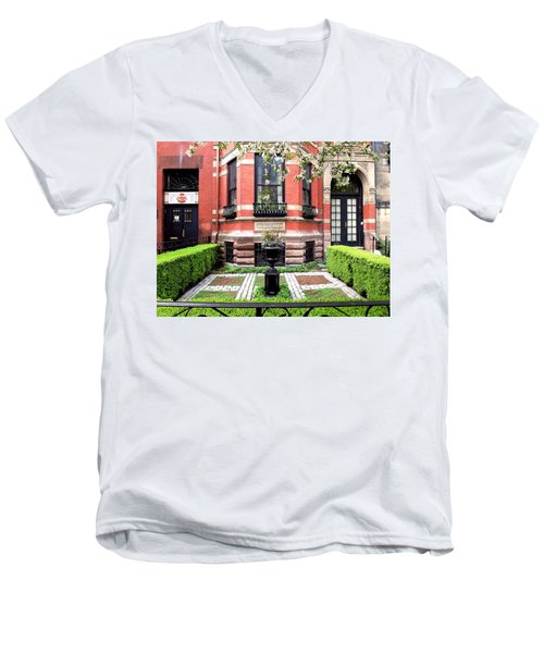 Boston's Back Bay Men's V-Neck T-Shirt