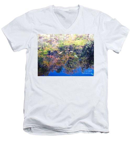 Bottoms Up Sunlight Men's V-Neck T-Shirt by Melissa Stoudt