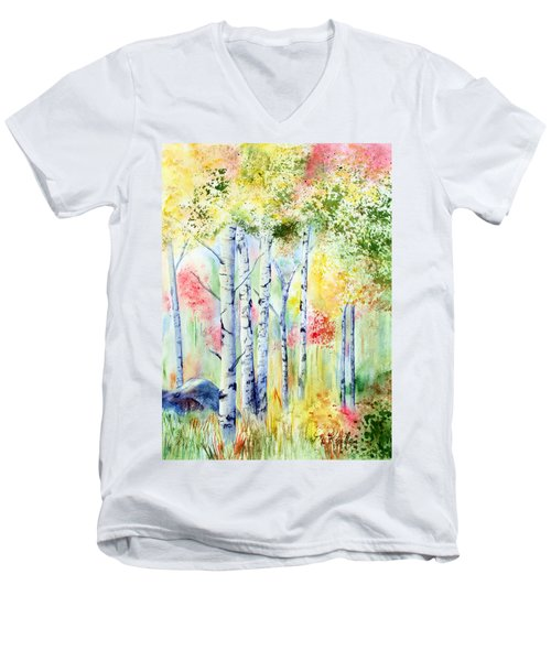 Boulder Grove Men's V-Neck T-Shirt