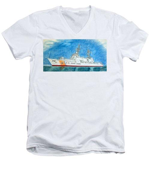 Boutwell-u.s.coast Guard 719 Men's V-Neck T-Shirt
