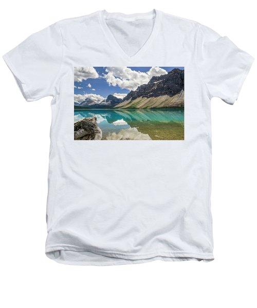 Bow Lake Men's V-Neck T-Shirt