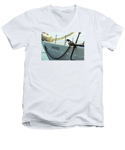 Bowdoin Men's V-Neck T-Shirt