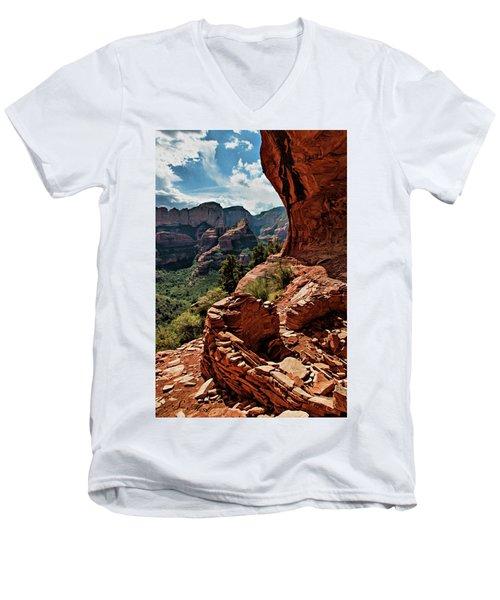 Boynton Canyon 08-160 Men's V-Neck T-Shirt