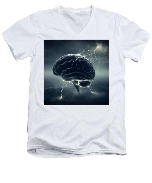 Brainstorm Men's V-Neck T-Shirt