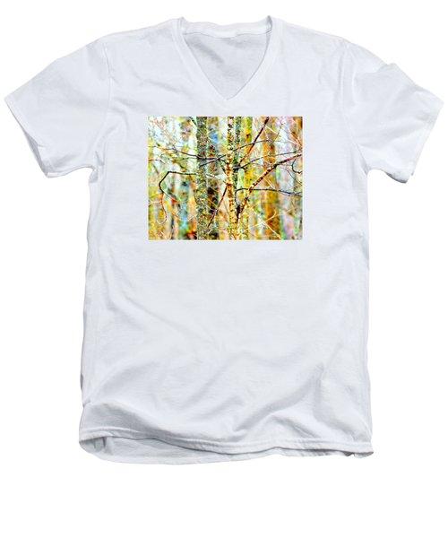 Branches Men's V-Neck T-Shirt