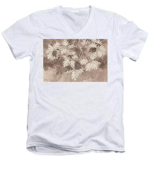 Breadfruit Tree Men's V-Neck T-Shirt