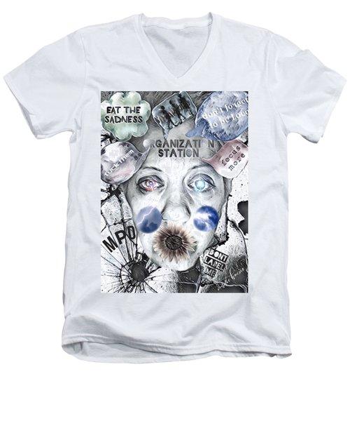 Break Free Men's V-Neck T-Shirt