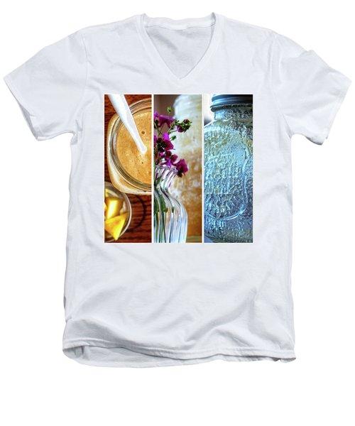 Breakfast Options Men's V-Neck T-Shirt