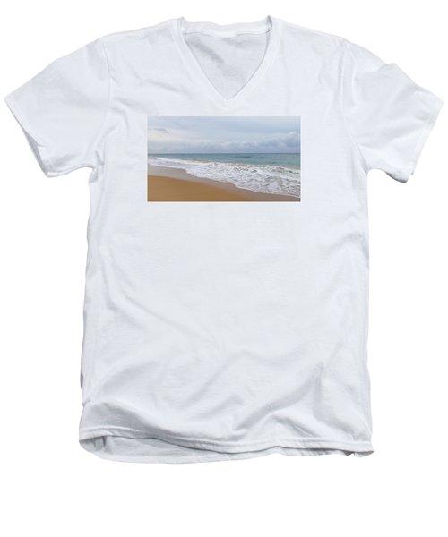 Breaking Wave San Juan Men's V-Neck T-Shirt
