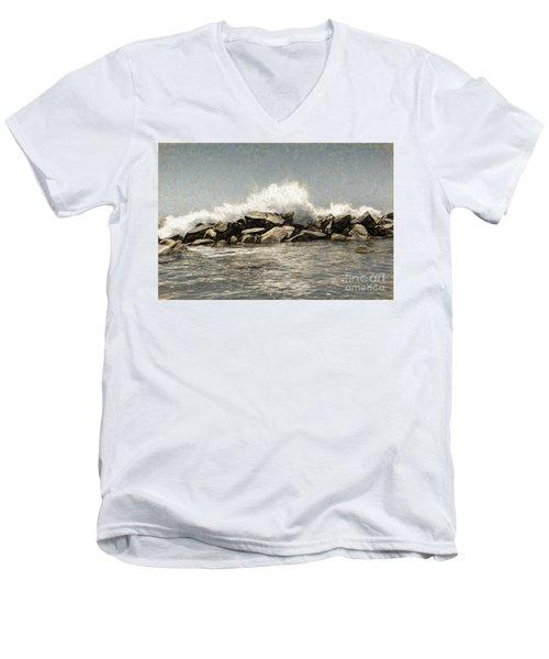 Breakwater 2 Men's V-Neck T-Shirt