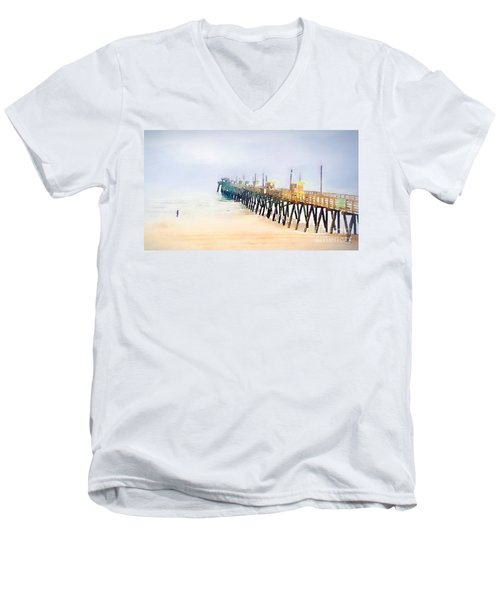 Breathe In Men's V-Neck T-Shirt