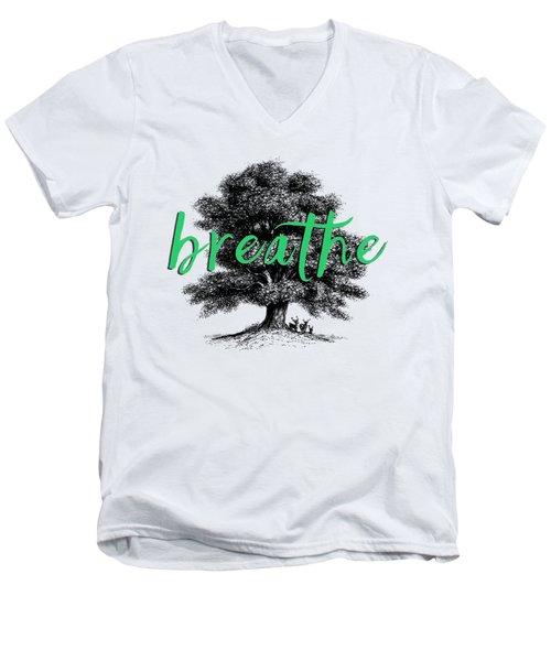 Breathe Shirt Men's V-Neck T-Shirt