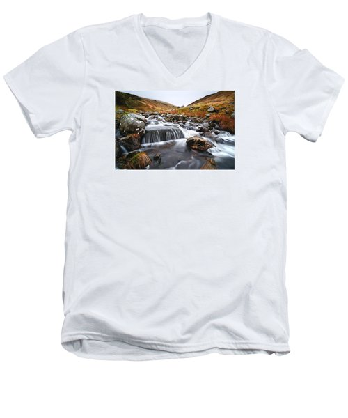 Brecon Beacons National Park 2 Men's V-Neck T-Shirt