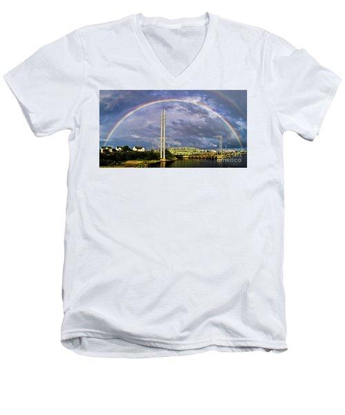 Bridge Of Hope Men's V-Neck T-Shirt