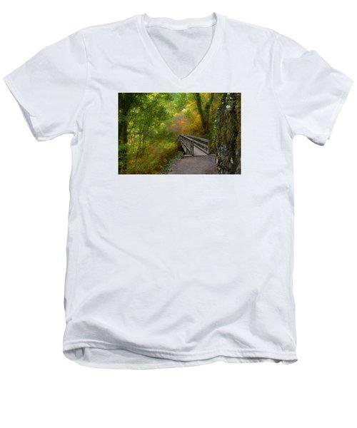 Bridge To Lightness Men's V-Neck T-Shirt