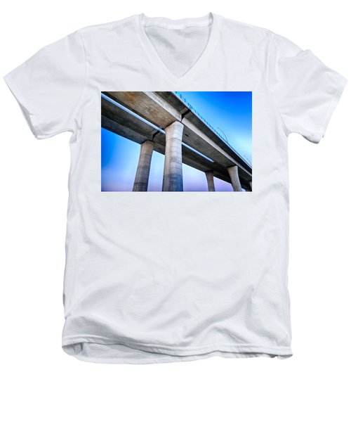 Bridge To The Heaven Men's V-Neck T-Shirt
