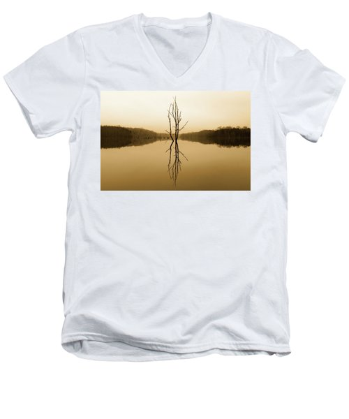 Briery Creek  Men's V-Neck T-Shirt