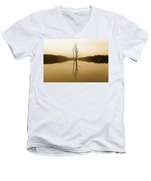 Briery Creek  Men's V-Neck T-Shirt
