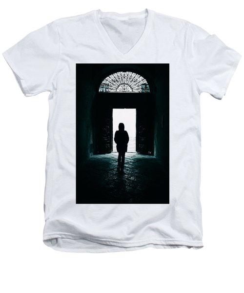 Bright Ancient Doorway Men's V-Neck T-Shirt