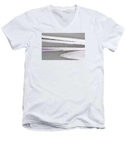 Bright Sun On The Ice  Men's V-Neck T-Shirt by Lyle Crump