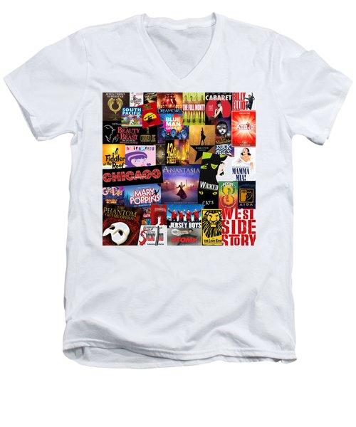 Broadway 14 Men's V-Neck T-Shirt