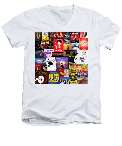 Broadway 15 Men's V-Neck T-Shirt
