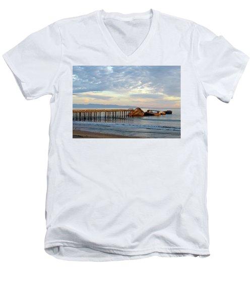 Broken Boat, Ss Palo Alto Men's V-Neck T-Shirt