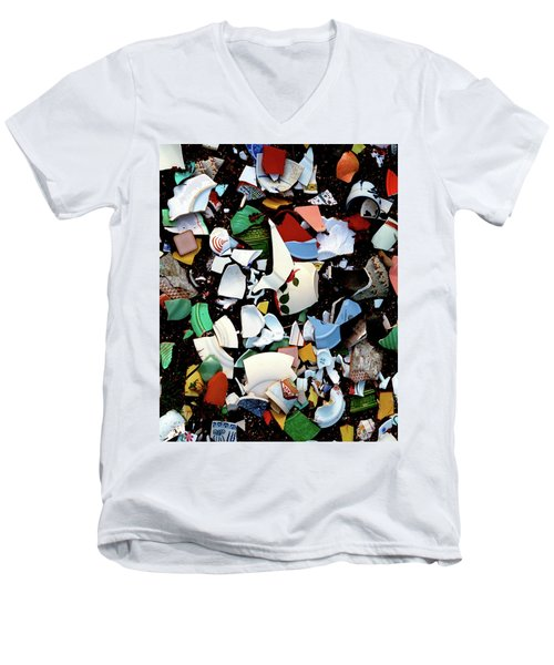 Broken Memories Men's V-Neck T-Shirt