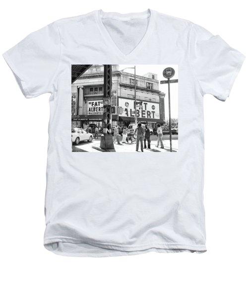 Brooklyn Fat Albert  Men's V-Neck T-Shirt