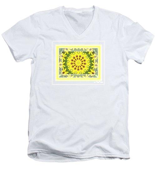 Brown Eyed Susan X2 Men's V-Neck T-Shirt