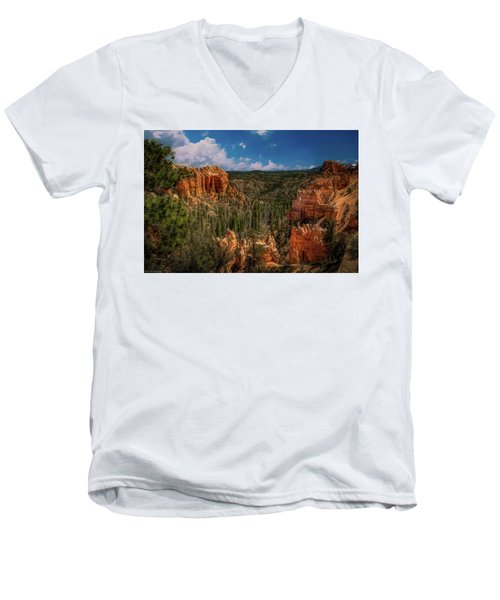 Bryce Canyon From The Top Men's V-Neck T-Shirt