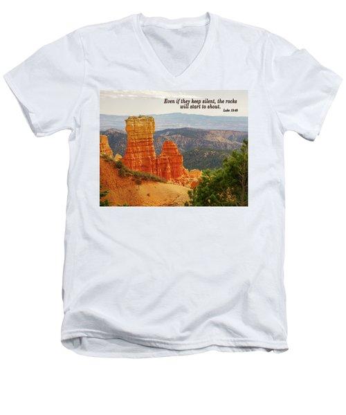Bryce Canyon Men's V-Neck T-Shirt