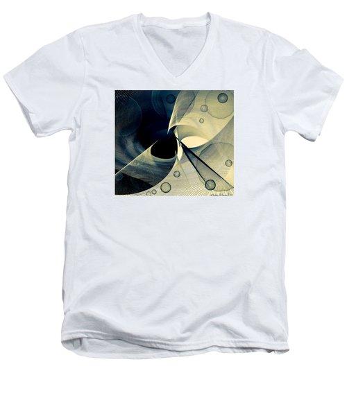 Bubble Hurricane Men's V-Neck T-Shirt