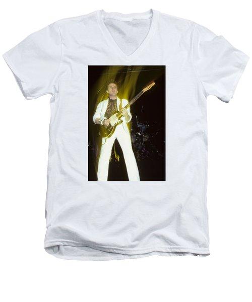Buck Dharma Of Blue Oyster Cult Men's V-Neck T-Shirt