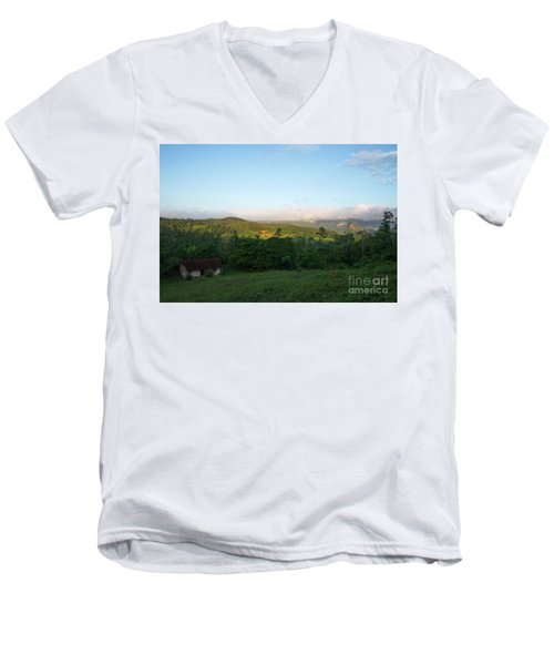 Bucolic Vinales I Men's V-Neck T-Shirt