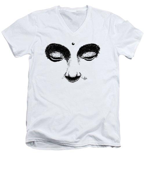 Buddha Eyes T-shirt Men's V-Neck T-Shirt