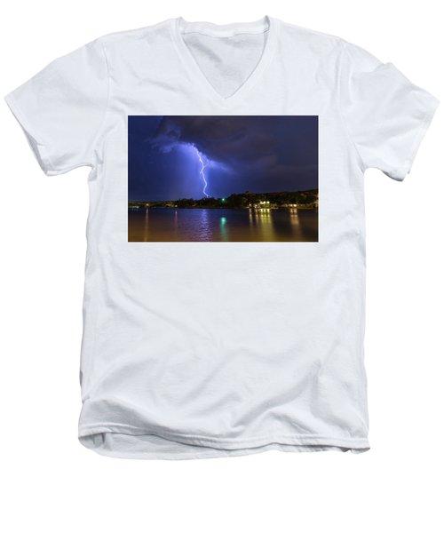 Buffalo Springs Lightning 3 Men's V-Neck T-Shirt