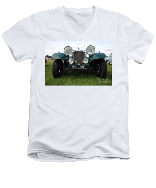 Bug Eye Jaguar Men's V-Neck T-Shirt