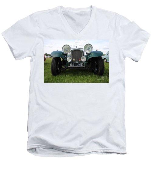 Bug Eye Jaguar Men's V-Neck T-Shirt