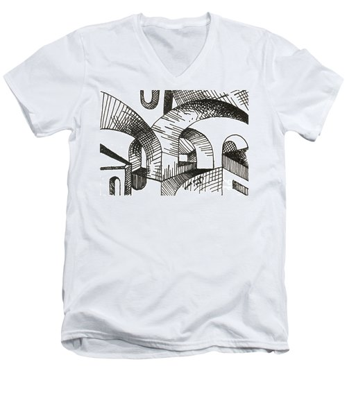Buildings 1 2015 - Aceo Men's V-Neck T-Shirt